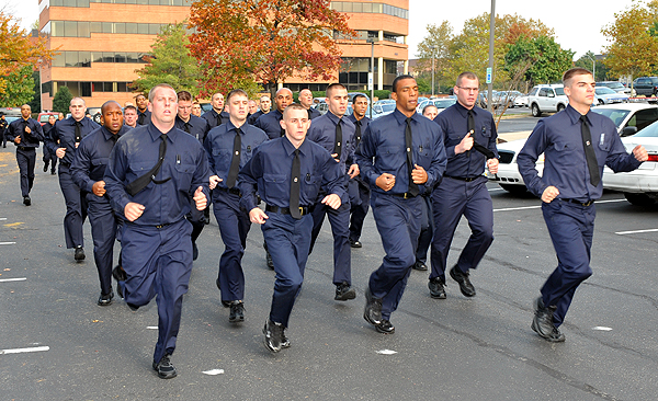 Law enforcement physical training