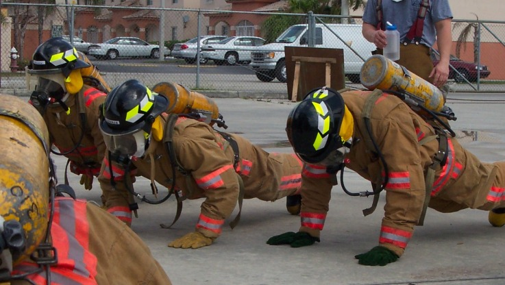 fire fighter physical training